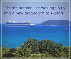 There's nothing like waking up to find a new destination to explore quote Fiji LWC