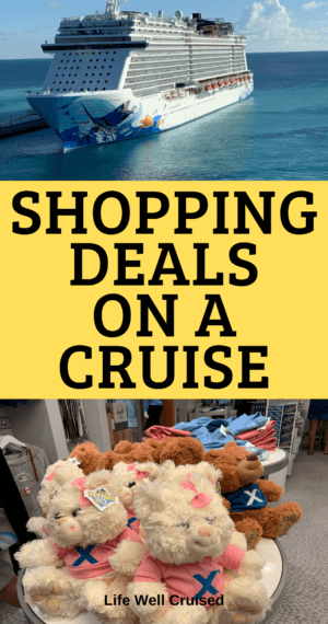 shopping deals on a cruise
