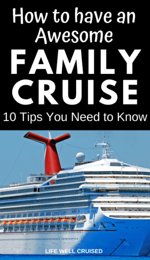 How to Have an Awesome Family Cruise PIN image