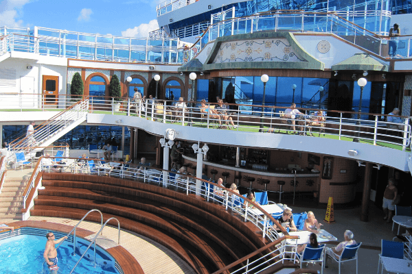 Ruby Princess Terrace Pool