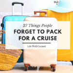 Things People Forget to Pack for a Cruise