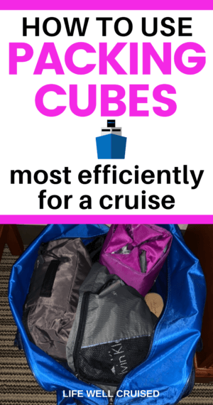How to use Packing Cubes Most Efficientlly for a Cruise