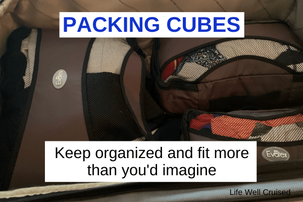 Packing Cubes 6 x 4