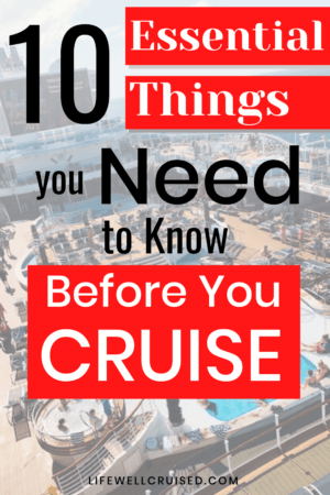 10 Essential Things You Need to Know Before You Cruise PIN
