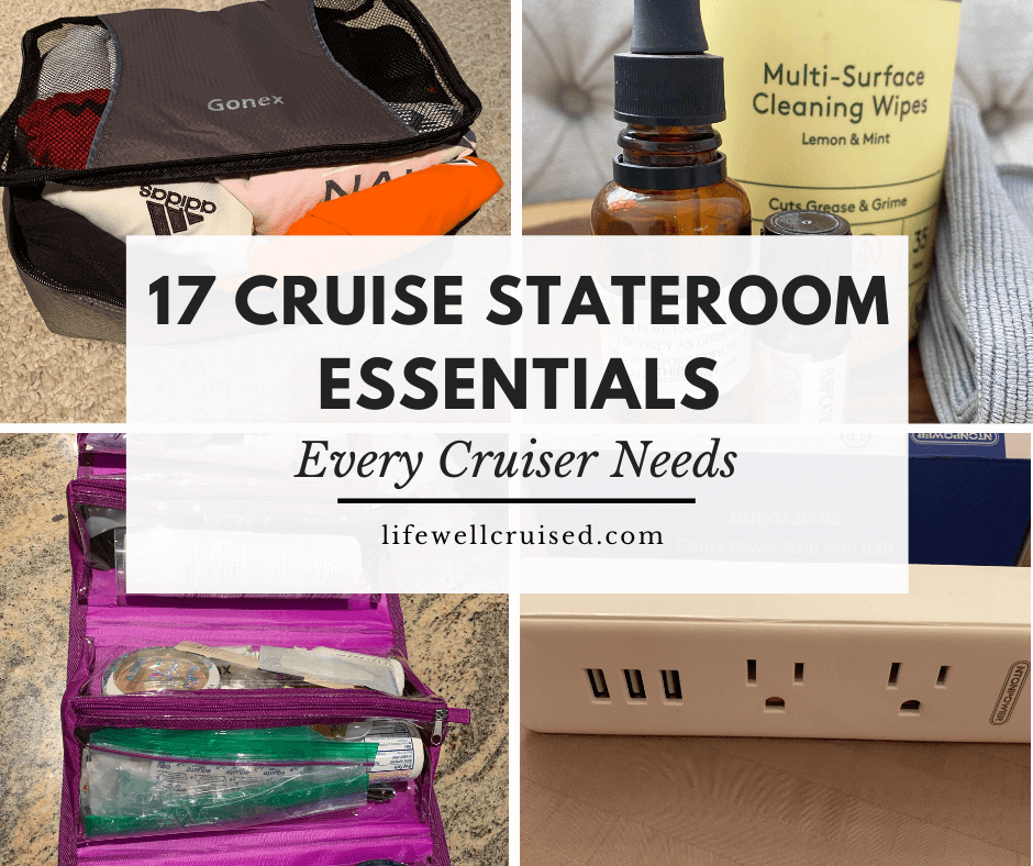17 Cruise Stateroom Essentials Every Cruiser Needs