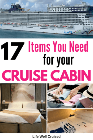 17 Items You Need for Your Cruise Cabin