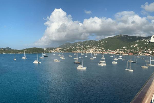Charlotte Amalie St Thomas cruise port