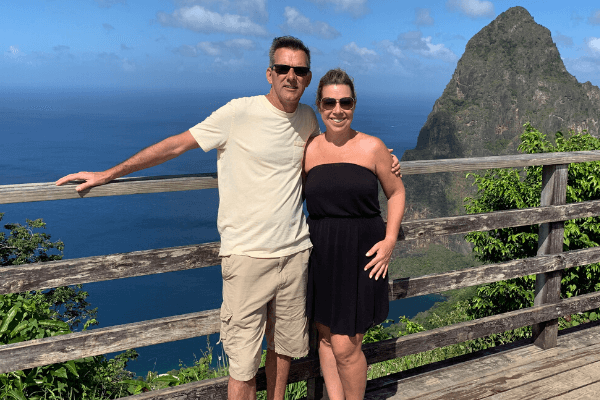 Touring St. Lucia