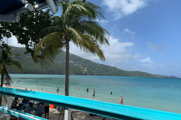 Magen's Bay Beach view