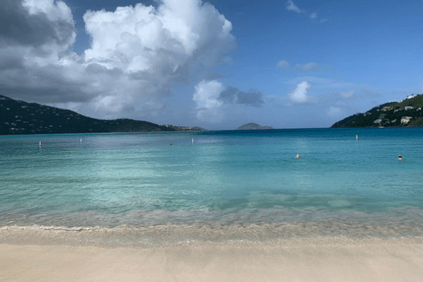 Magen's Bay St Thomas calm beach