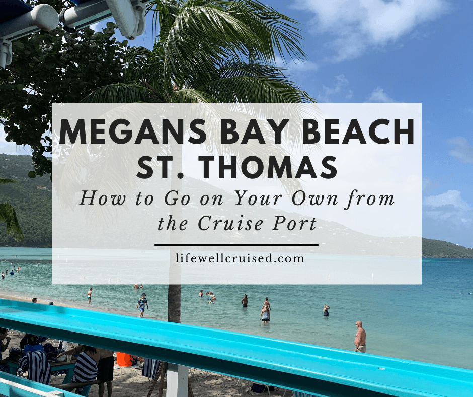 Magens Bay Beach St. Thomas - How to go on your own from the cruise port