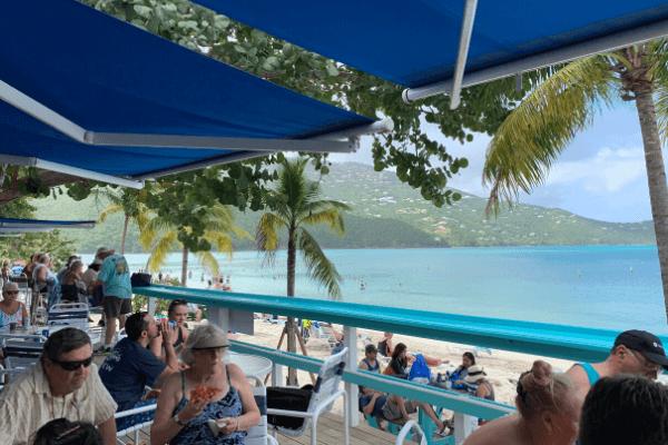Magen's Bay restaurant and bar