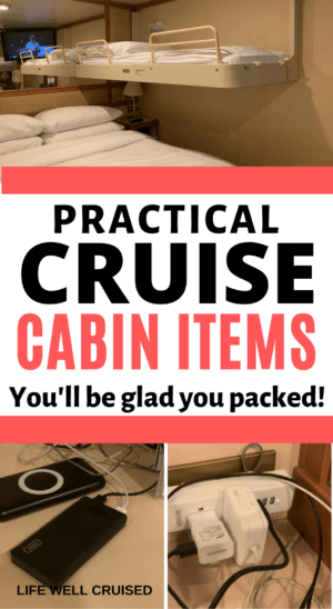 Practical Cruise Cabin Items You'll be glad you packed
