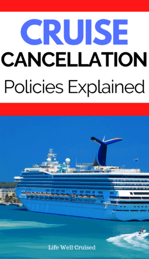Cruise Cancellation Policies Explained PIN