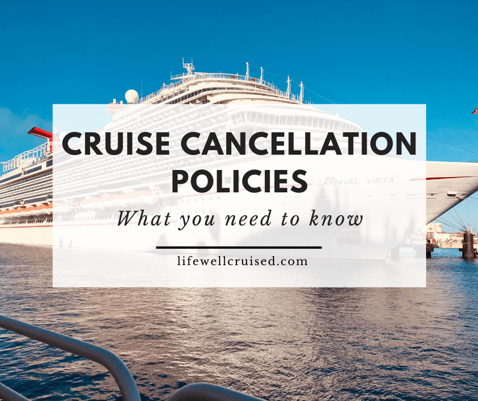 Why You Should Know About Cruise Line Cancellation Policies