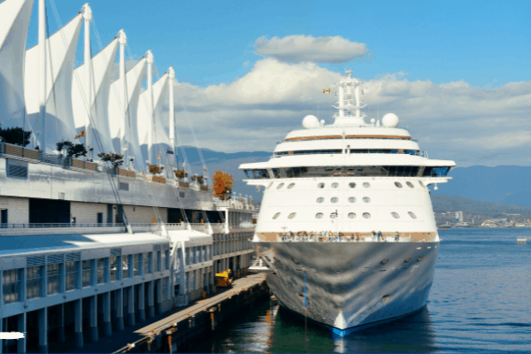Cruise Ship in Vancouver