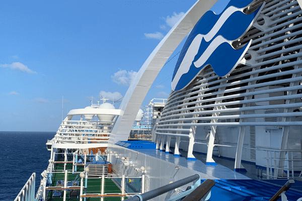 crown princess logo on ship