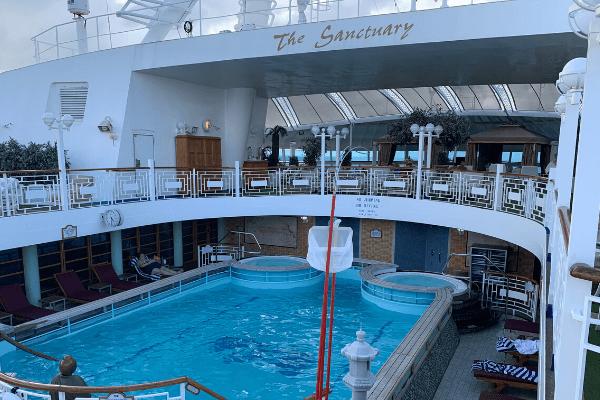 Princess Cruises The Sanctuary Pool 6 x 4