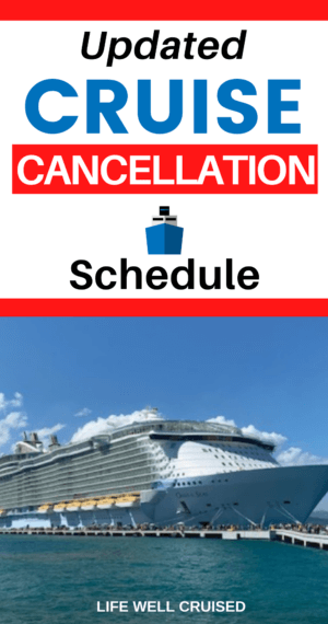 Updated Cruise Cancellation Schedule 2 PIN