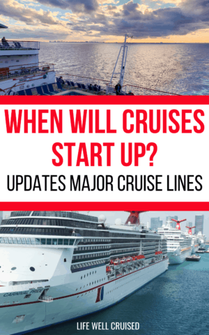 when will cruises start up