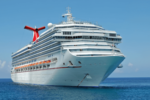 Carnival Cruiseship caribbean sea DP 6 x 4