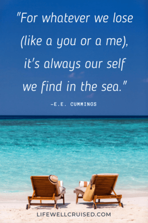 For whatever we lose (like a you or a me), it's always our self we find in the sea