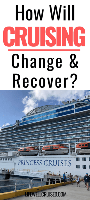 How will cruising change and recover PIN