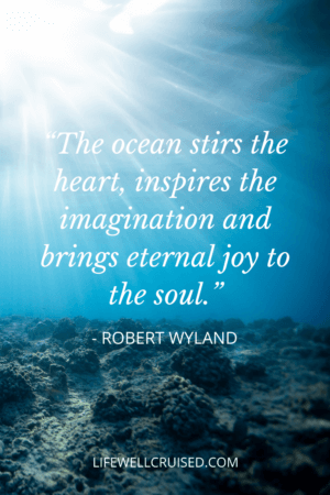 The ocean stirs the heart, inspires the imagination and brings eternal joy to the soul.