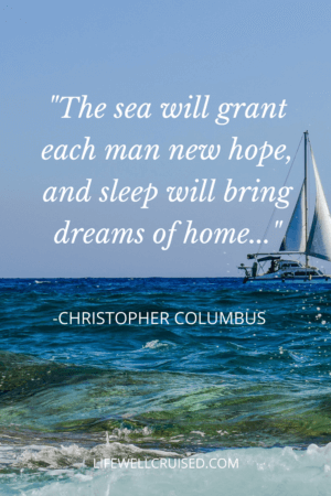 The sea will grant each man new hope, and sleep will bring dreams of home..._ PIN ocean quote