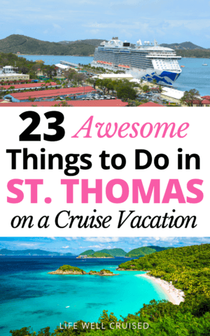23 Awesome Things to Do in St. Thomas on a Cruise Vacation PIN