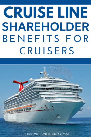 Cruise Line Shareholder Benefits for Cruisers Pin image carnival ship