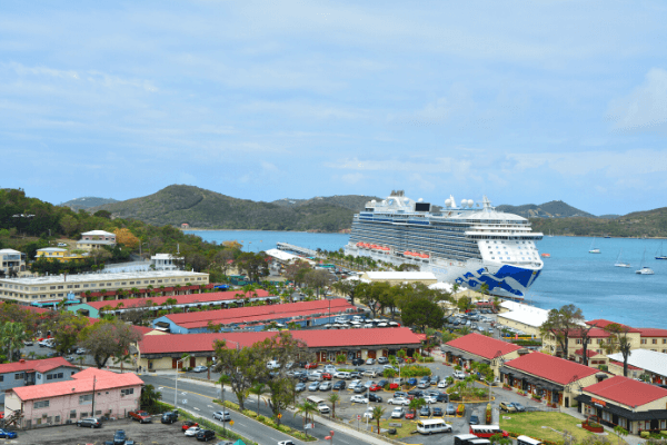 St. Thomas Havensight Cruise Port Royal Princess Cruise Ship