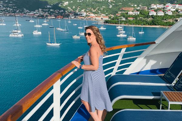 St. Thomas cruise port harbor Ilana - Life Well Cruised