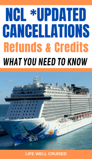 NCL Updated Cancellations - Refunds and Credits