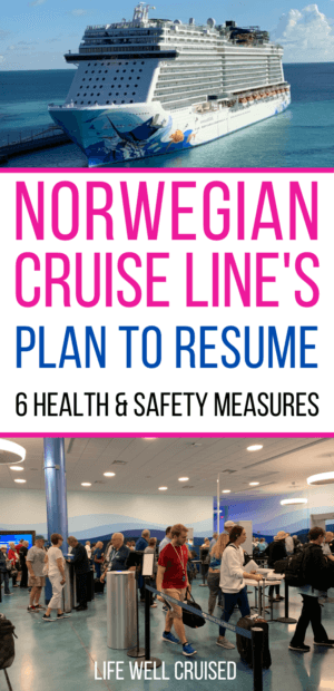 Norwegian Cruise Line's Plans to resume PIN