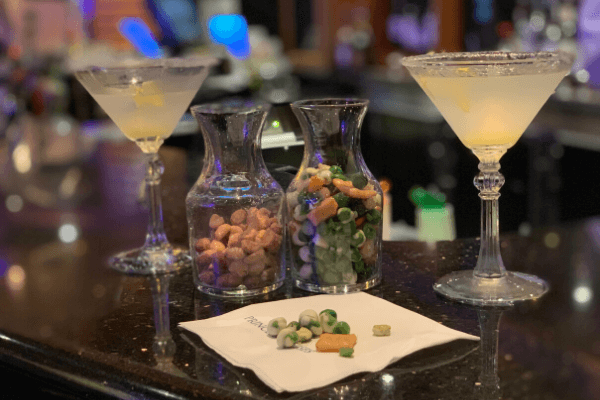 Princess Cruises Crooners Bar Lemontini Martini
