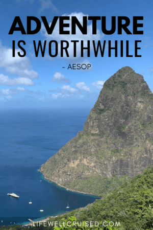 adventure is worthwhile Aesop