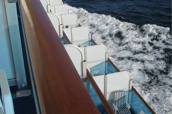 cruise Balcony cabins and view