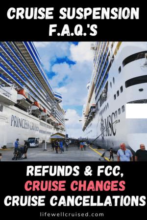 Cruise suspension FAQ's