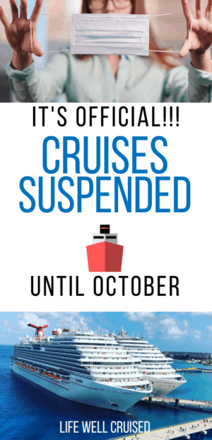 Cruises Suspended Until October