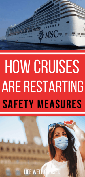 How cruises are restarting safety measures