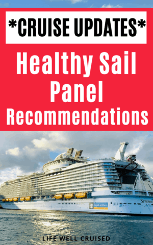 Cruise updates healthy sail panel