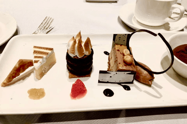 Princess Cruises Desserts grown grill