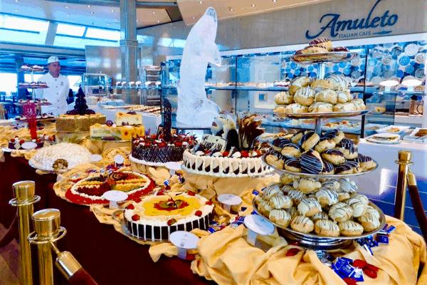 Princess Cruises dessert