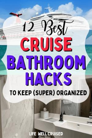 12 Best Cruise Bathroom Hacks