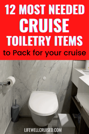 12 Most Needed Cruise Toiletry Items