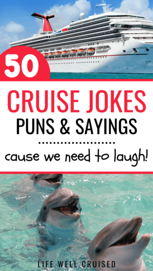 50 Cruise jokes, puns and one liners