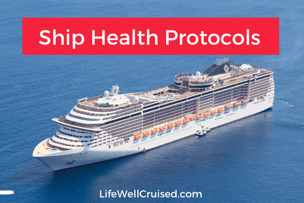 Cruise Health Protocols new cdc order