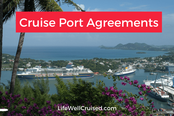 Cruise Port Agreements how cruises will resume