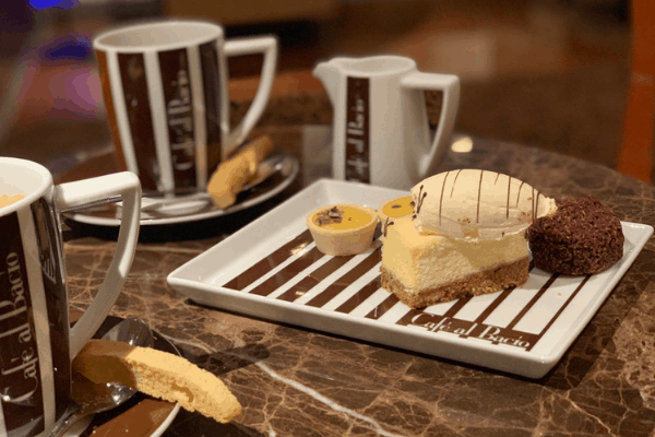 Cruise ship cafe - celebrity cruises cafe al bacio